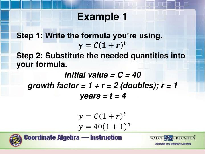 exponential functions word problems pdf