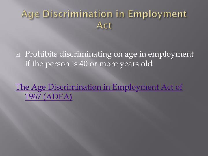 looks beauty appearance discrimination in employment essay Therefore, beauties hasn't proven that age is a bona fide occupational qualification, and its discriminatory ad must be changed if an advertisement clearly discriminates on the basis of age, the eeoc acknowledges that the employer can claim that age is a bona fide occupational qualification.