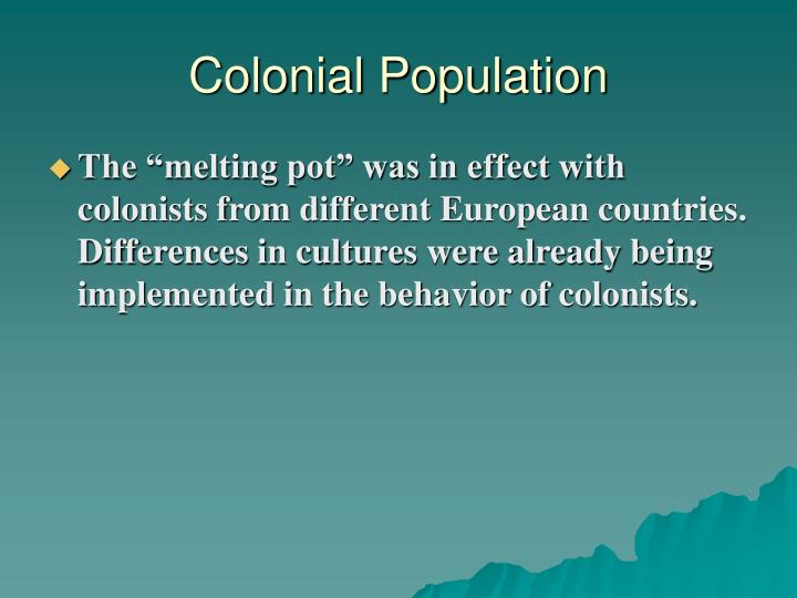 Colonial population1