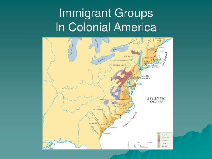 Immigrant Groups