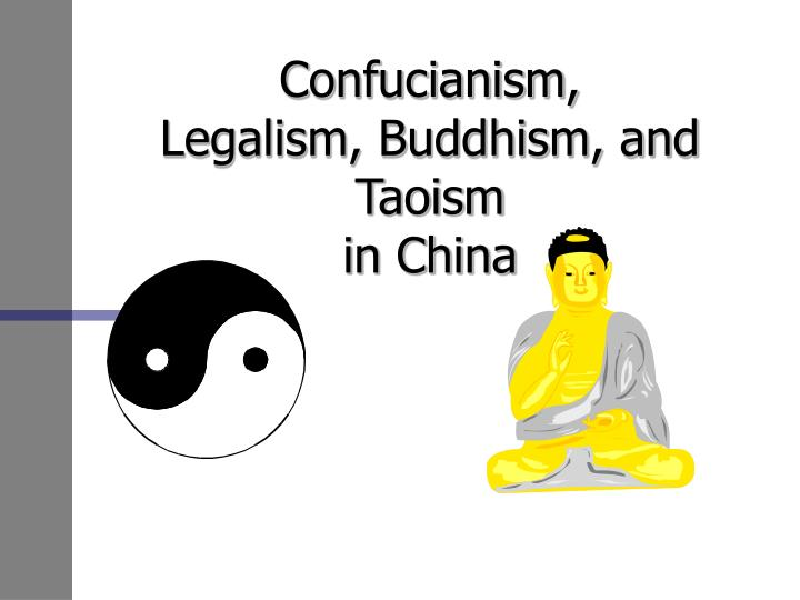 confucianism legalism buddhism and taoism in china n.