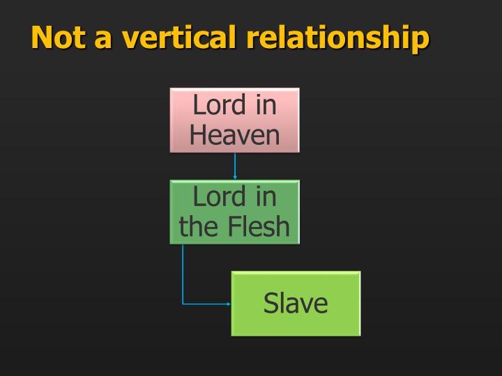 Not a vertical relationship