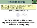 ionization energy1