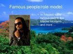 famous people role model