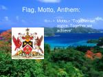 flag motto anthem