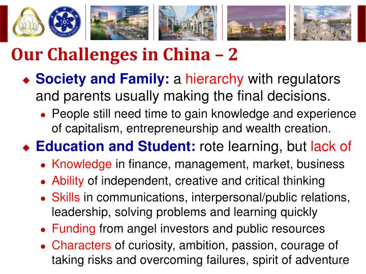 Our Challenges in China – 2