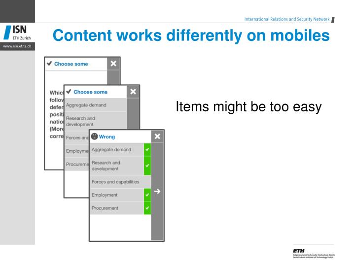 Content works d