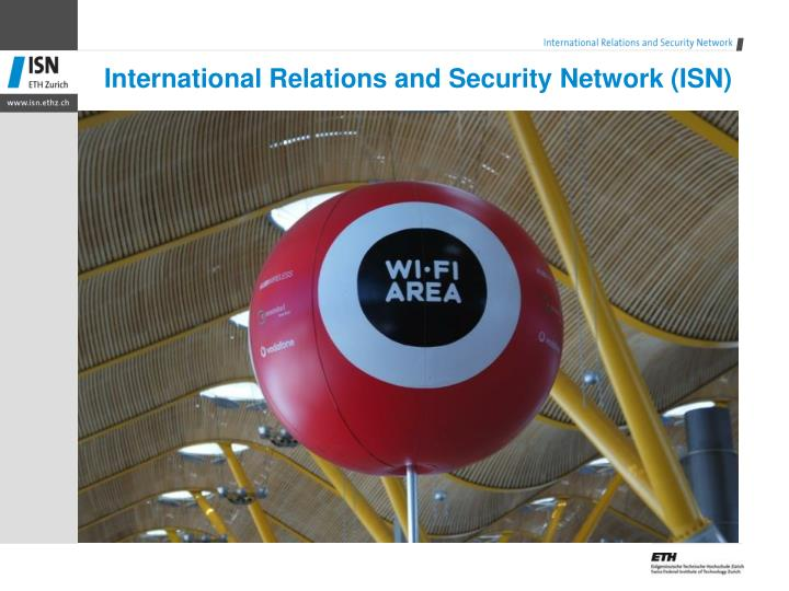 International relations and security network isn