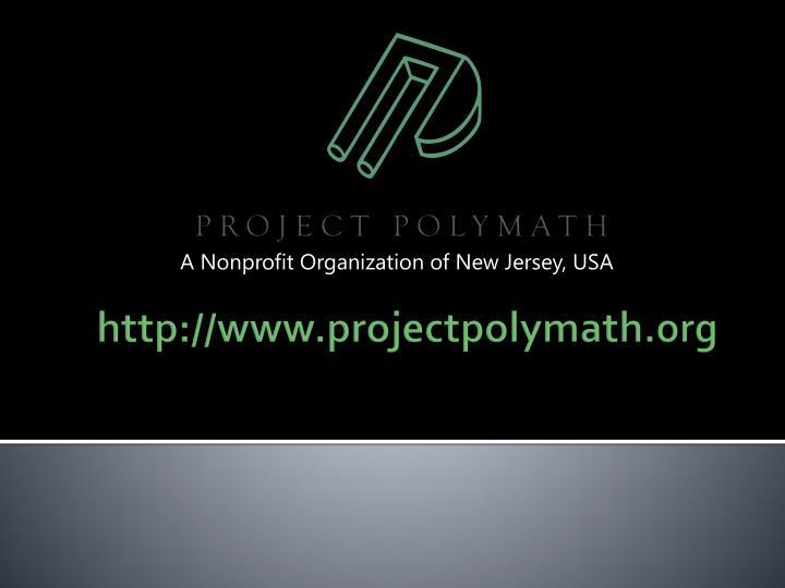 A Nonprofit Organization of New Jersey, USA