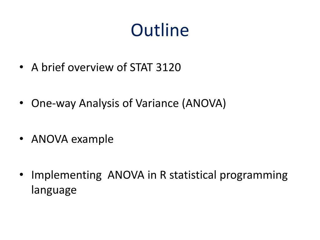 PPT - STAT 3130 PowerPoint Presentation - ID:3152311