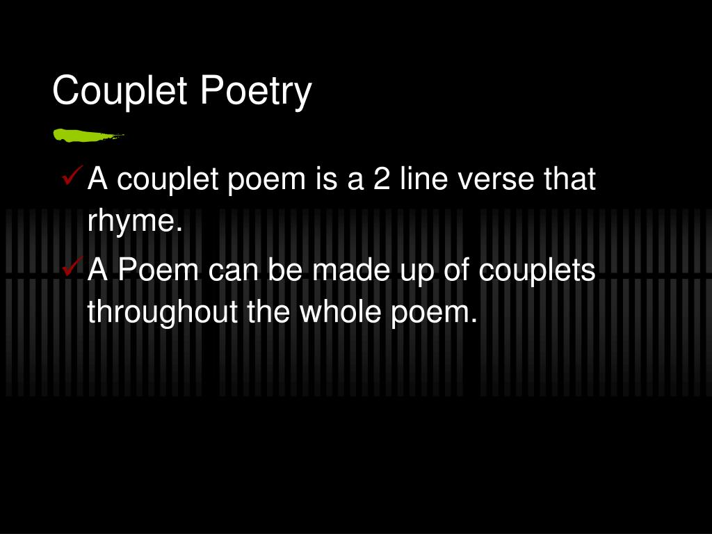 Ppt Different Types Of Poetry Powerpoint Presentation