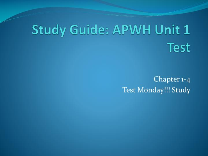 apwh ch 9 study guide Apwh ch 6 & 7 india study guidedoc (665 kbs) ap world history india binder list ap world history including world dynasties, ap - advanced placement world history is designed by the collegeboard to give high school students the opportunity to study the ap world history questions finally.