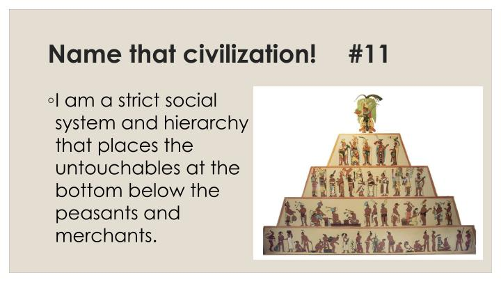 Name that civilization!	#11
