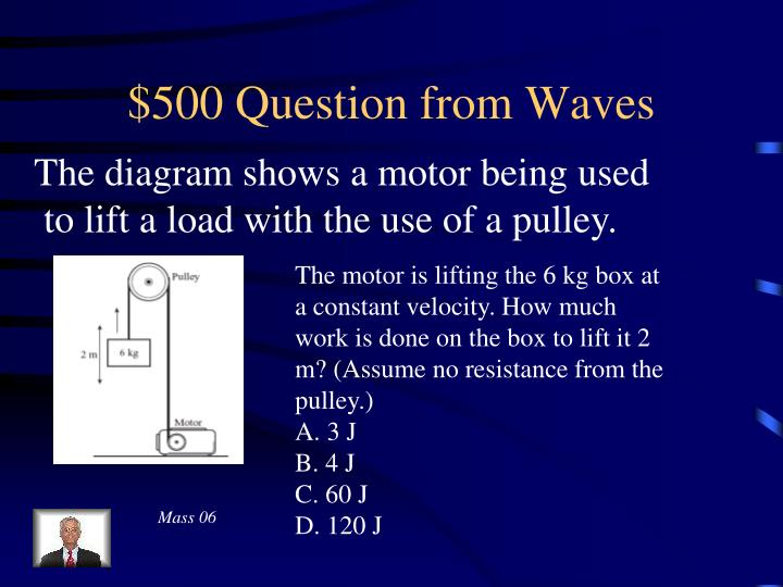 $500 Question from Waves