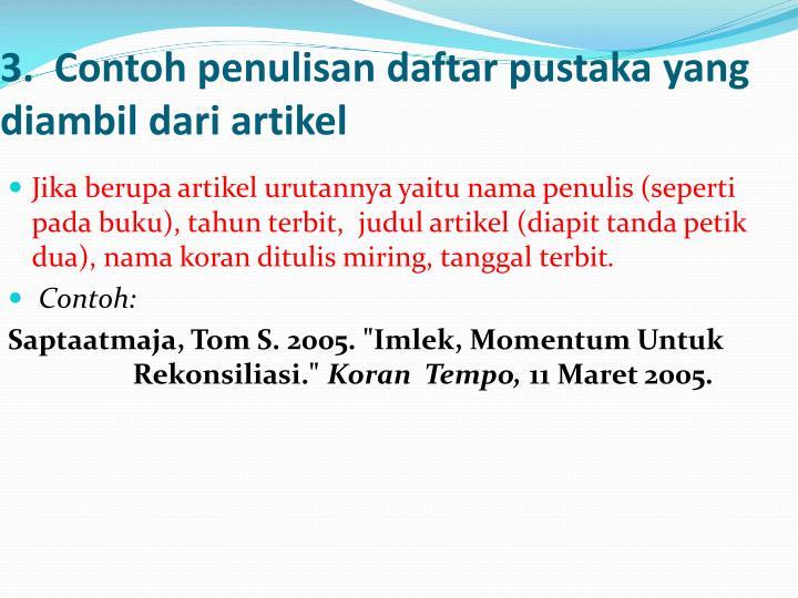 Ppt Cara Menulis Pustaka Powerpoint Presentation Id 3153215