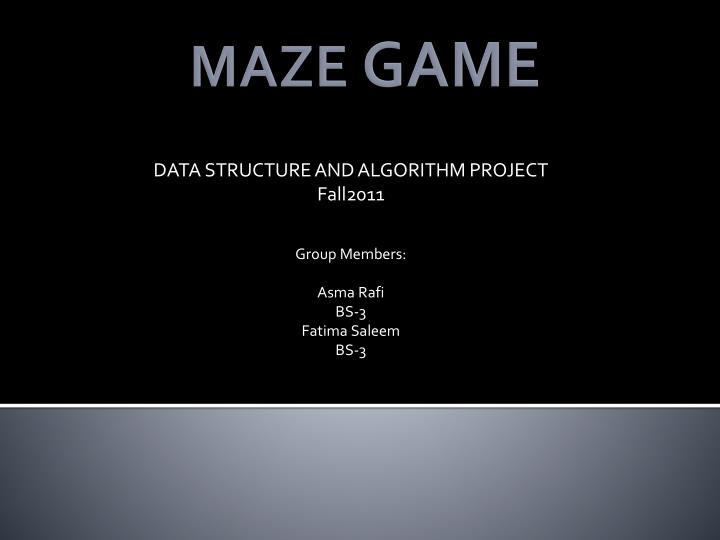 maze powerpoint project Following your maze introduction project (listed above) students are now ready to draw a creative 2-point perspective drawing one such project would be a 2-point perspective viewed from below students would be creating floating structures.
