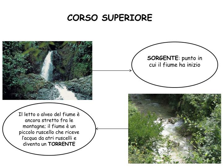 CORSO SUPERIORE