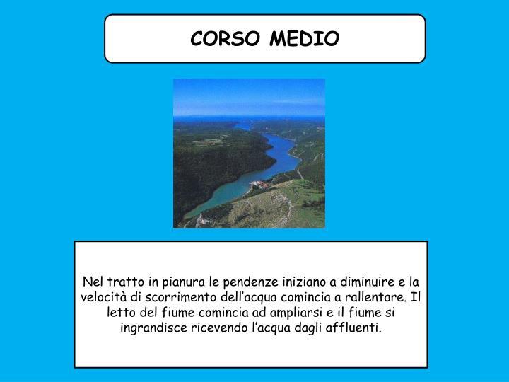 CORSO MEDIO