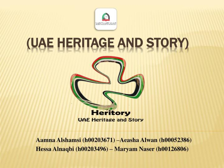 Ppt Uae Heritage And Story Powerpoint Presentation Free