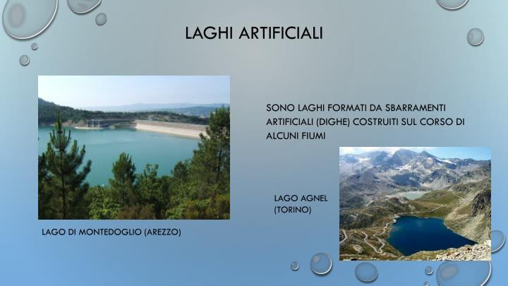 LAGHI ARTIFICIALI