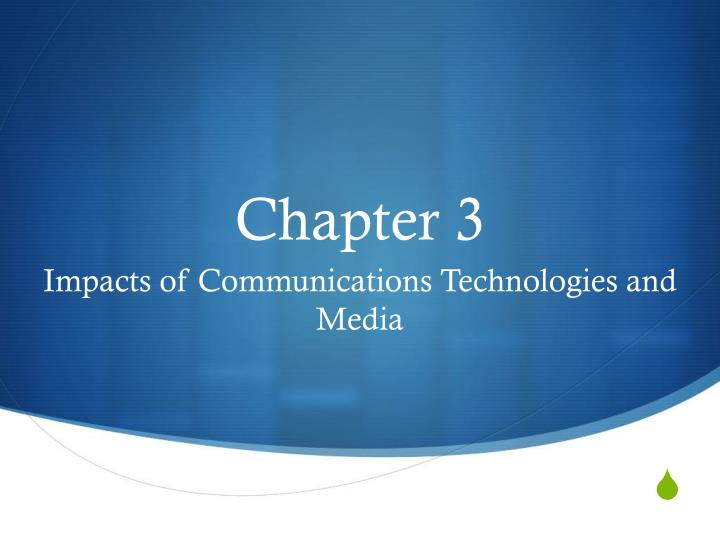 impact communications technology business An excellent word document which meets the criteria for p5 - the impact of communications technology on business for level 3 extended diploma in business p5 - explain the competitive pressures on selected, contrasting business organisations to develop their use of e-business.