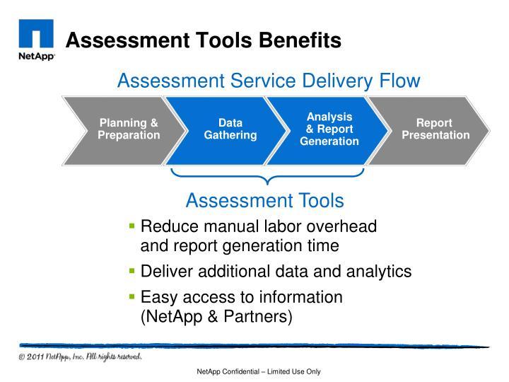 Assessment Tools Benefits