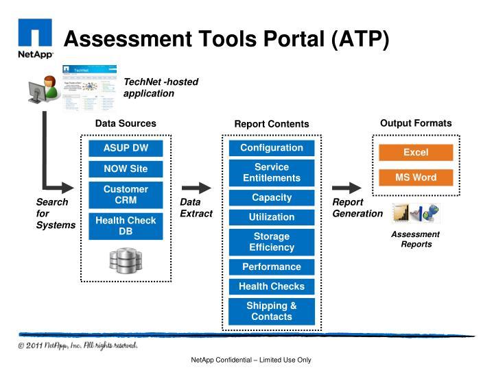 Assessment Tools Portal (ATP)