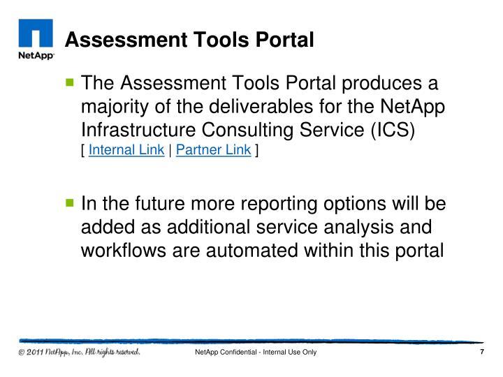 Assessment Tools Portal