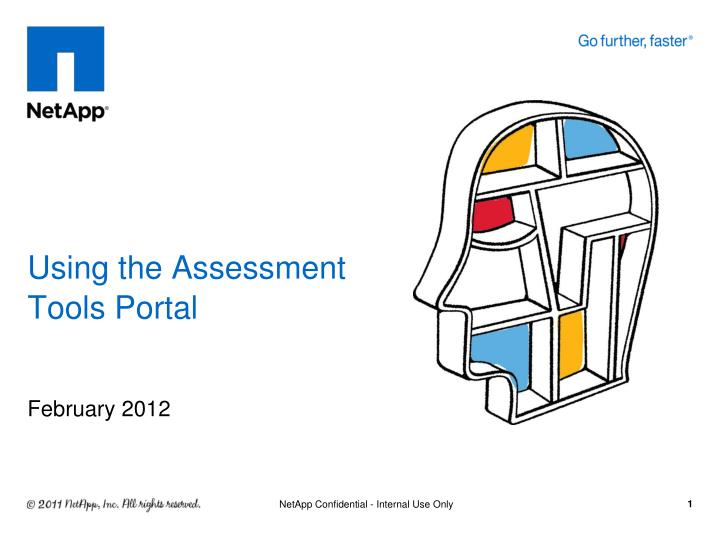 using the assessment tools portal n.