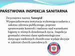 pa stwowa inspekcja sanitarna