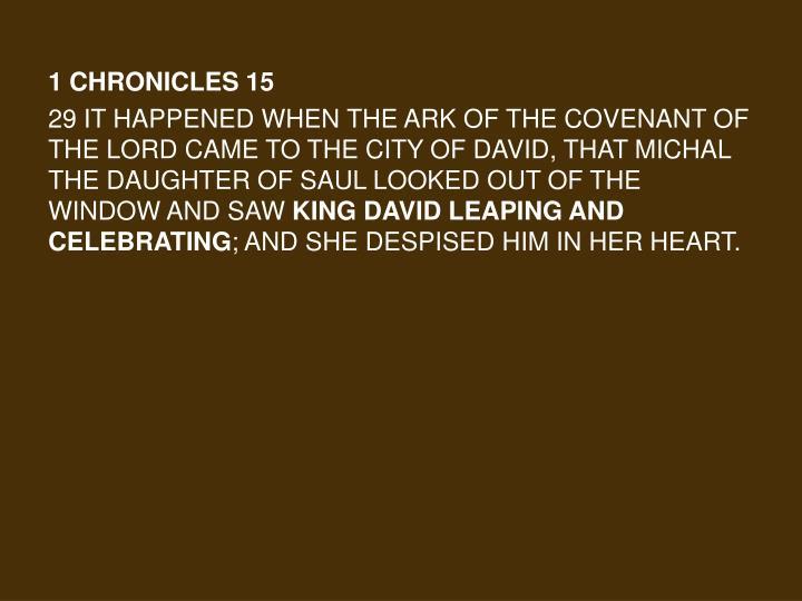 1 Chronicles 15