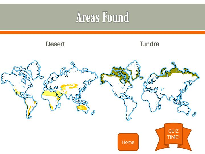 Areas Found