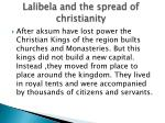 lalibela and the spread of christianity