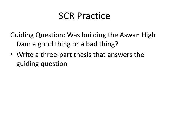 Scr practice