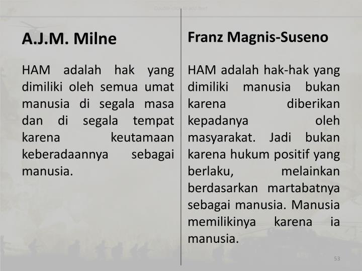 A.J.M. Milne