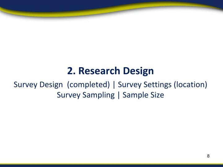 2. Research Design