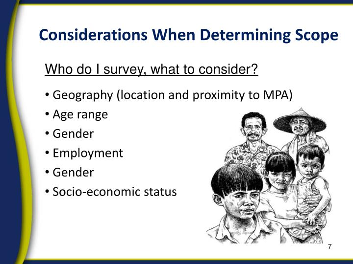 Considerations When Determining Scope