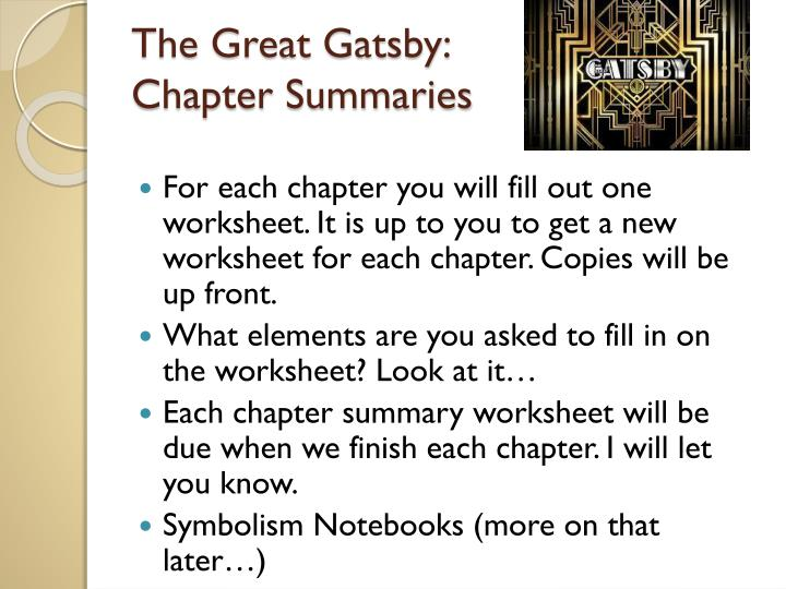ap lit gatsby summary essay Advanced placement in write a well-organized essay in the great gatsby - advanced placement literature teaching unit - downloadable.
