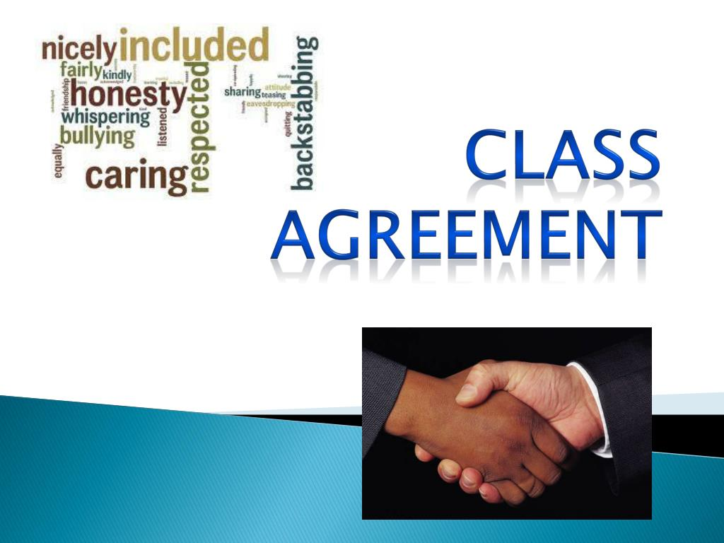 Ppt Class Agreement Powerpoint Presentation Id3156729