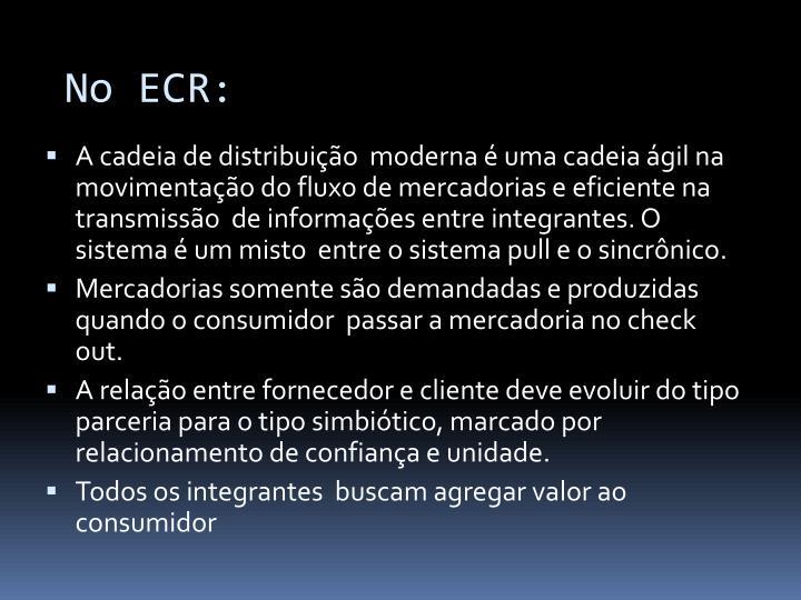 No ECR