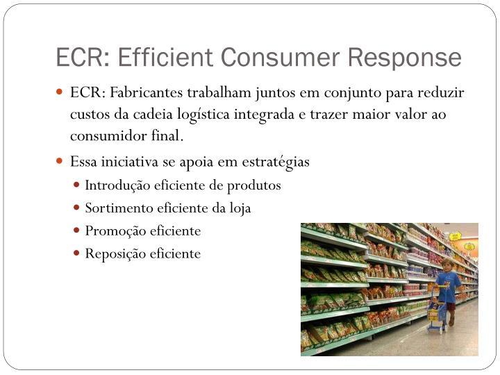 Ecr efficient consumer response1