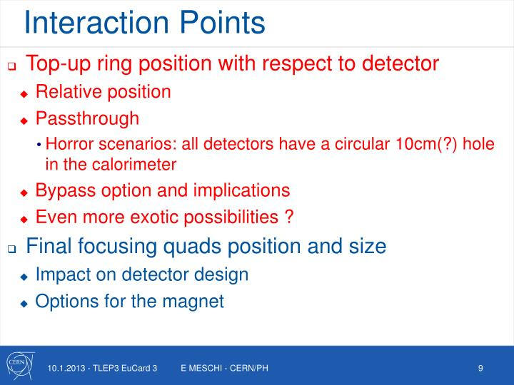 Interaction Points