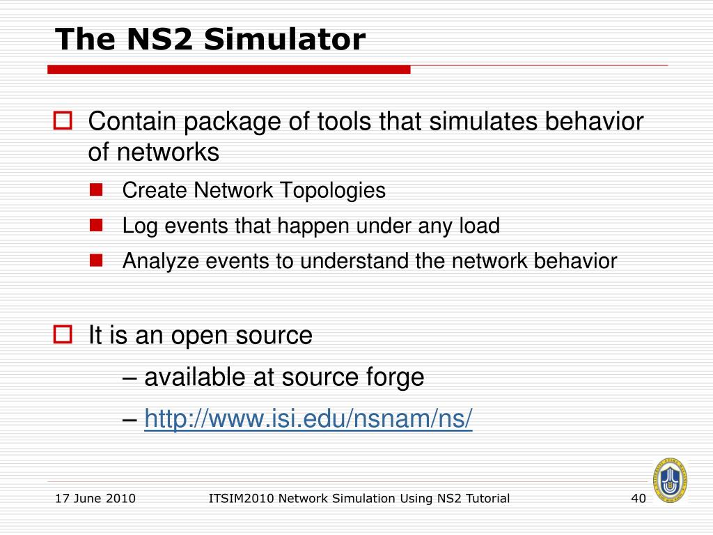 PPT - Network Simulation Using NS2 PowerPoint Presentation - ID:3157088