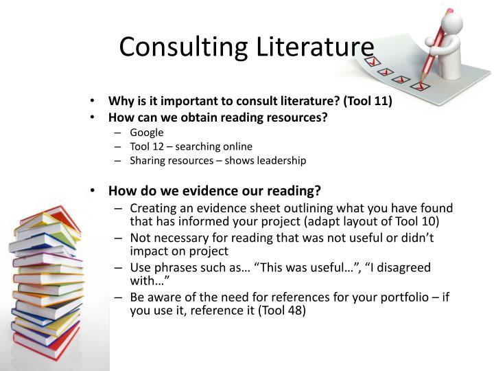 Consulting literature