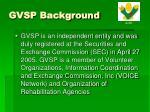 gvsp background