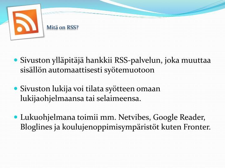 Mit on rss1