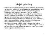 nk jet printing