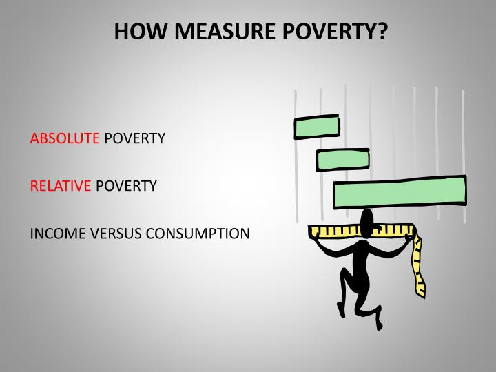HOW MEASURE POVERTY?