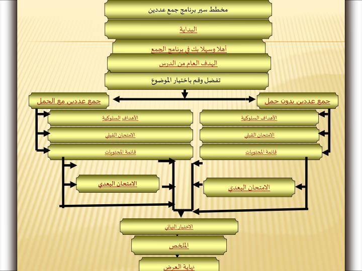 مخطط سير برنامج