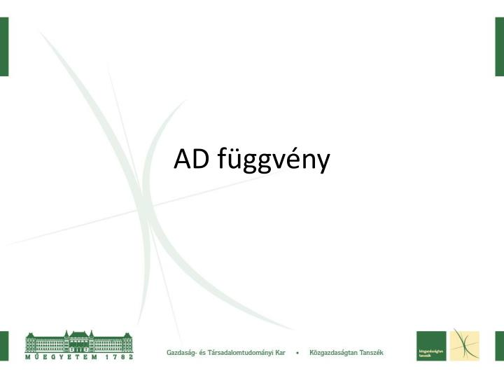 AD függvény